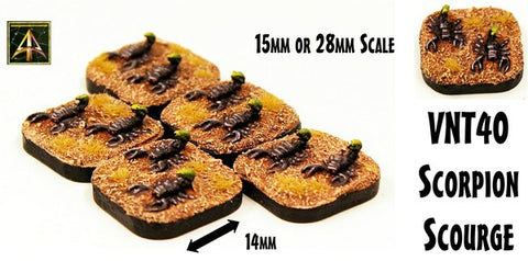 59023 25mm by 50mm Rectangle Resin Cartouche Bases (20)