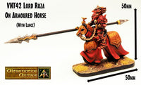 VNT42A Lord Ruza on Armoured Horse