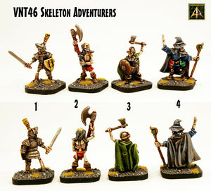 VNT46 Skeleton Adventurers