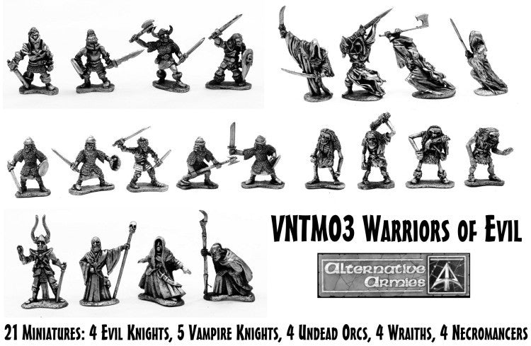 VNTM03 Warriors of Evil Boxed Set - Save 10%