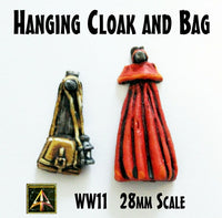 WW11 Hanging Cloak & Bag (Two Pieces)