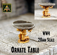 WW4 Ornate Table