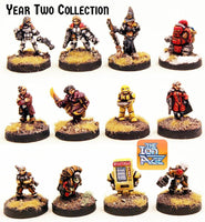 Year Two Collection - 12 Unique Miniatures (Set or Singles)