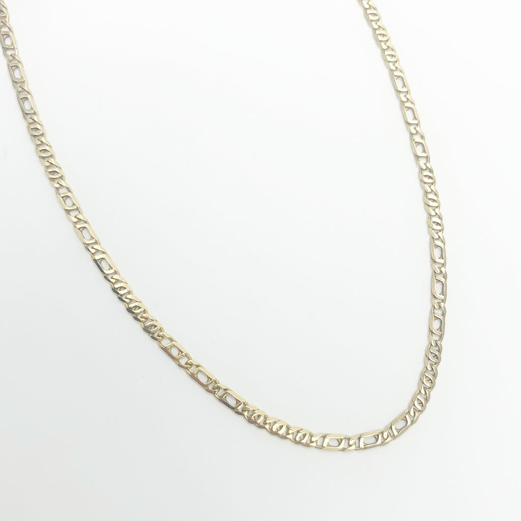 9ct Yellow Gold 50cm Chain