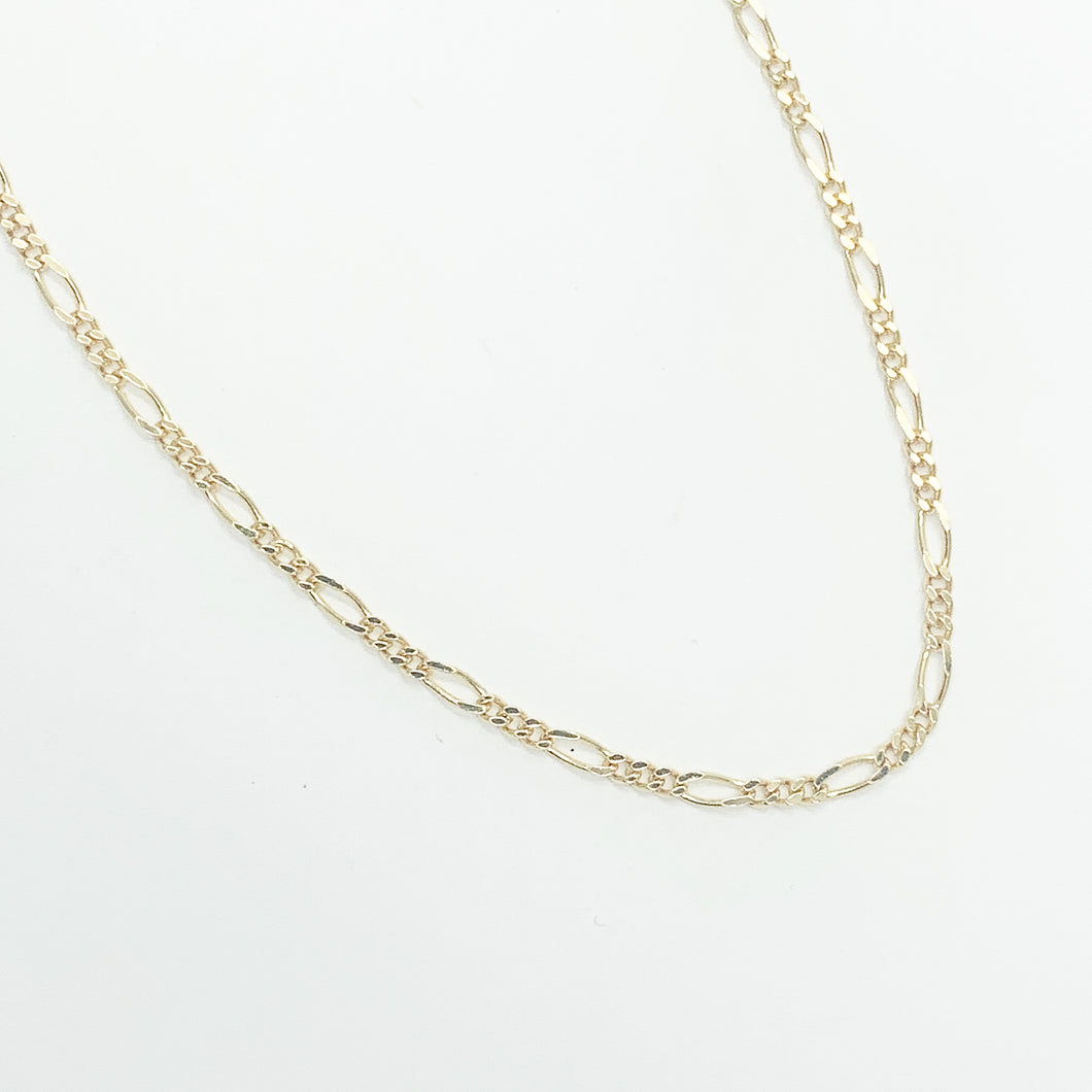 9ct Yellow Gold 45cm Chain