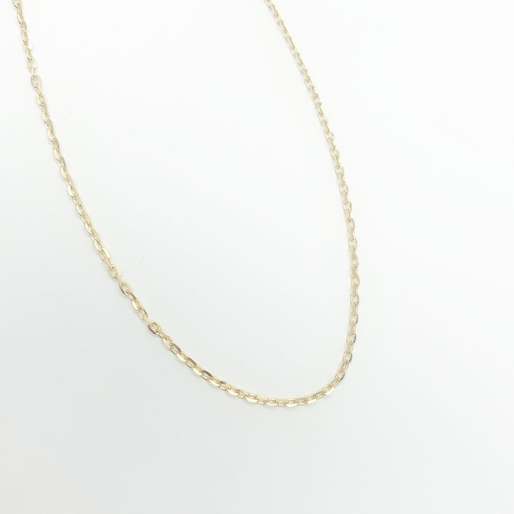 9ct Yellow Gold 55cm Chain