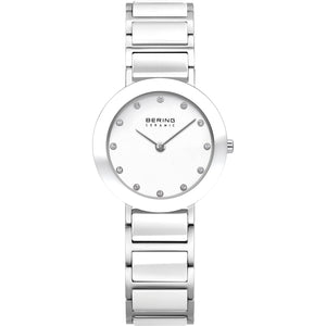 Bering Ceramic Collection White/Silver Watch