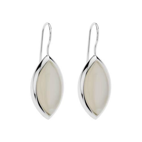 NAJO Sterling Silver Moonstone Drop Earrings