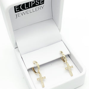 Yellow Gold Huggie Earrings