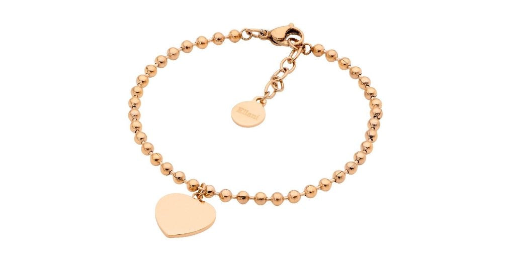 Ellani Stainless Steel/Gold Plated Bracelet