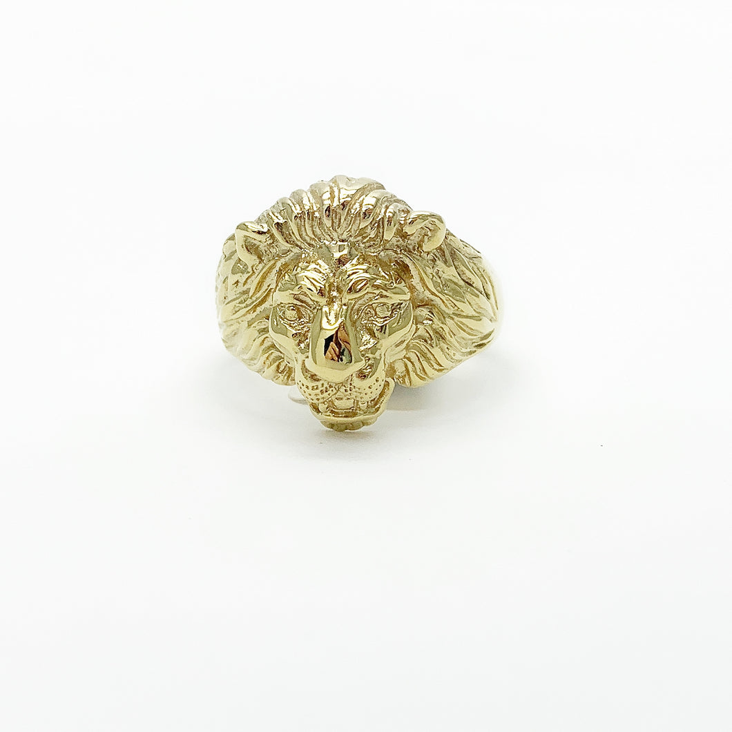 Yellow Gold Gents Ring
