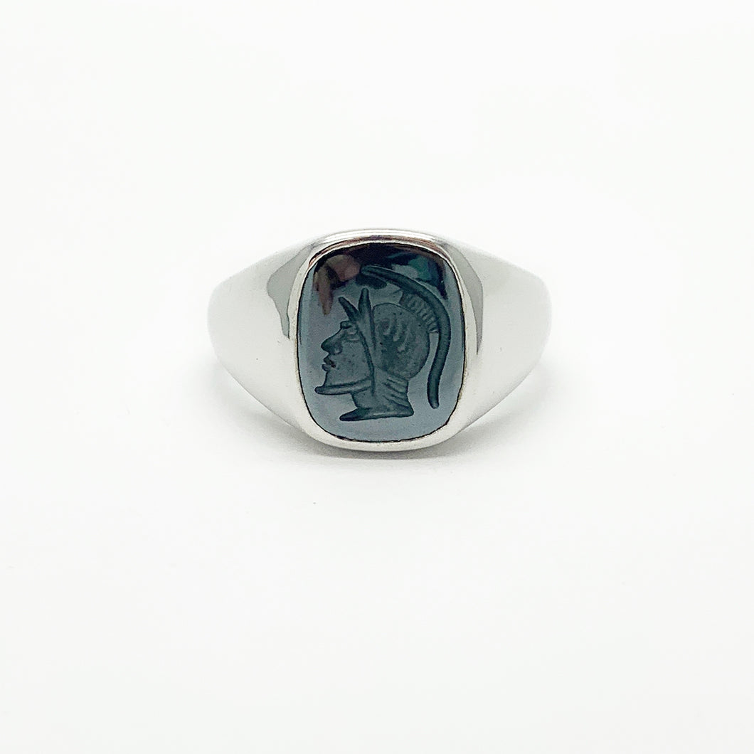 Sterling Silver Gents Ring