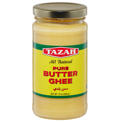 Tazah Natural Butter Ghee 12 Ounce (340g)