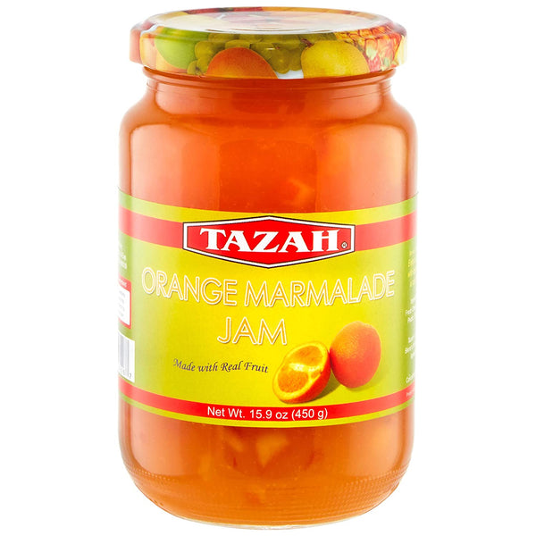 Tazah Orange Marmalade Jam 15.9 Ounce (450g) - Mideast Grocers
