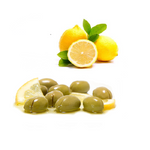 Tazah Green Cracked Olives with Lemon 3.75 Pound (1.7kg) - Mideast Grocers
