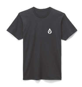 mymizu Black Tee (organic cotton)