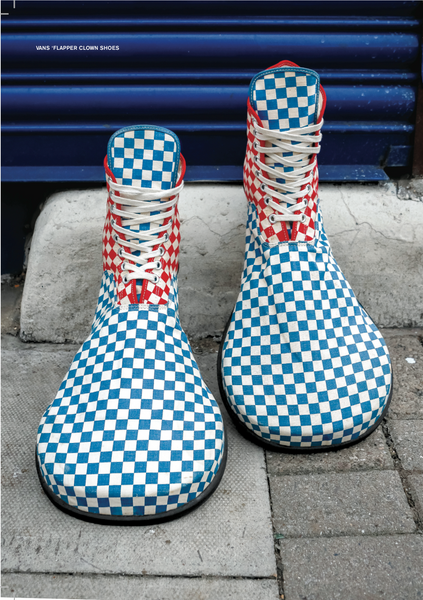085c140558ed starting from small beginnings the brand had big shoes to fill so to speak    the 1st incarnation of vans clown shoes were produced for squeaky the  clown. ...