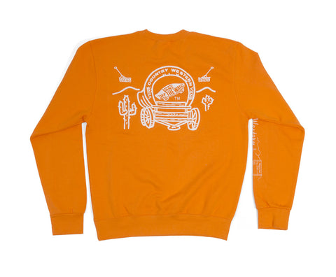 the vanzine country western sweatshirt ~ M, L, XL, XXL, XXXL