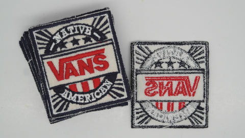 vintage vans native american patch