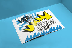 the vanzine ~ issue 02; the sticker