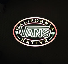 vintage vans california native neon sign (location usa)