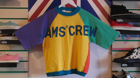 vintage original jams world sweatshirt ~ S, M