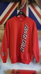 vintage santa cruz skateboards sweatshirt ~ XL