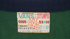 vintage vans varsity city campus sweater ~ L