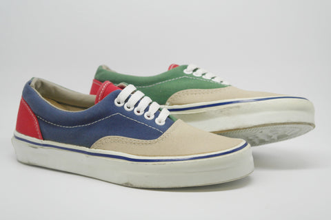 vintage vans x faconnable style #95 mk2 ~ US6.5