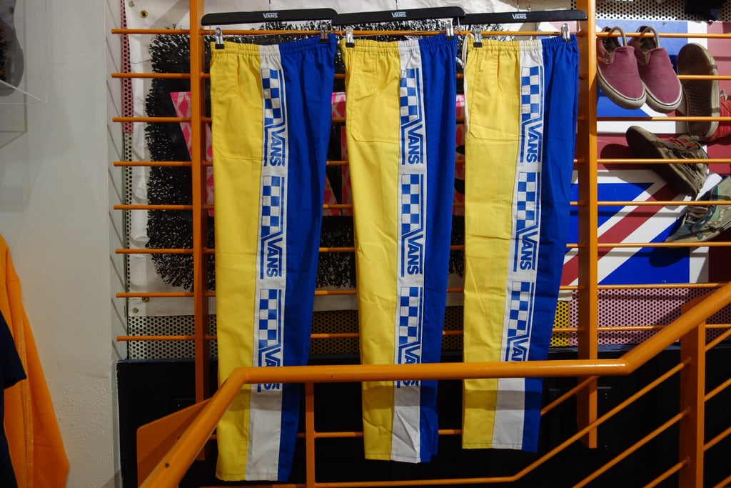 vintage van's factory race pants ~ S