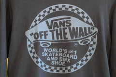 vintage vans off the wall l-s shirt ~ M