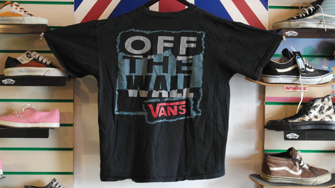 vintage vans off the wall t-shirt ~ M