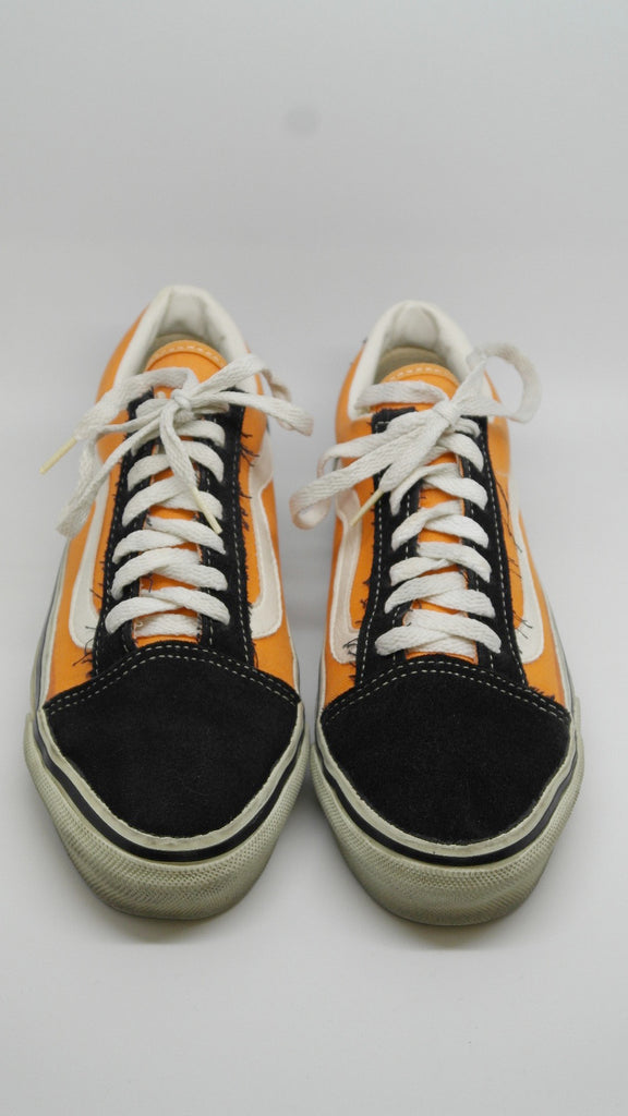 6255b3e3cb6c vintage vans style 36 old skool black tangerine suede canvas made in usa 90s used w8 a 1024x1024.jpg