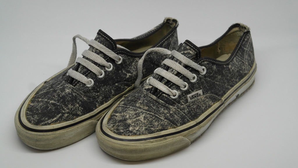 vintage vans authentic made in usa