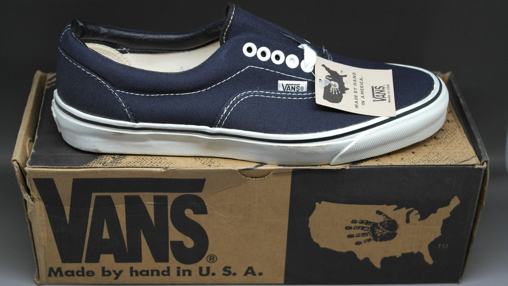 67896c778e vintage old original vans shoes made in usa america new old stock ...