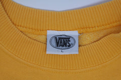 vintage vans usa sweatshirt ~ XL