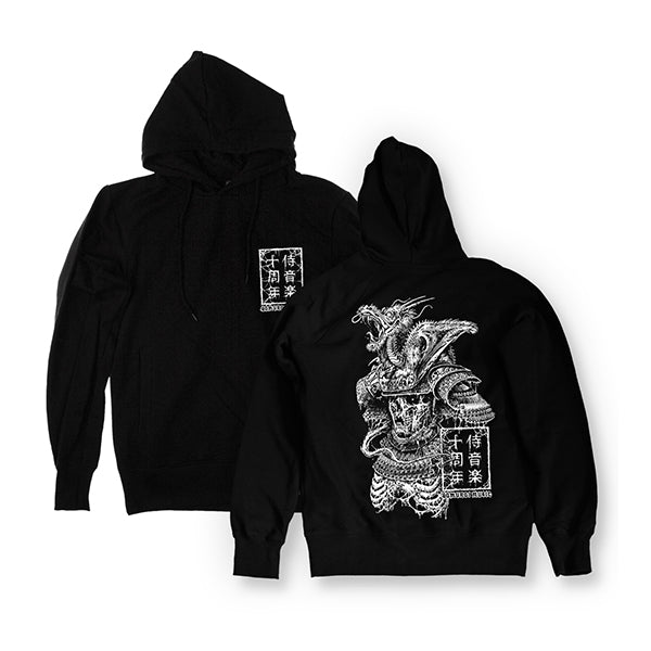 Samurai Music Decayed Warrior Hooded Sweatshirt
