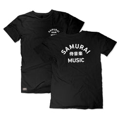 Samurai Music - Arc Logo T Shirt (Black)