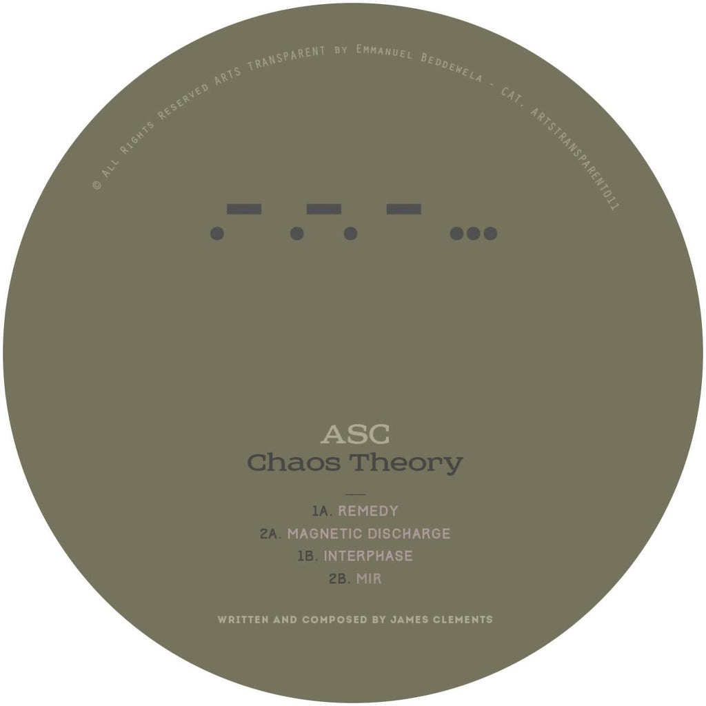 ASC - Chaos Theory [pre order]