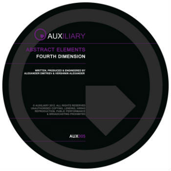 Abstract Elements 'Fourth Dimension EP' (Downloads)
