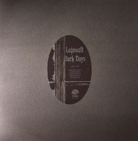 Legowelt 'Dark Days' (Vinyl)