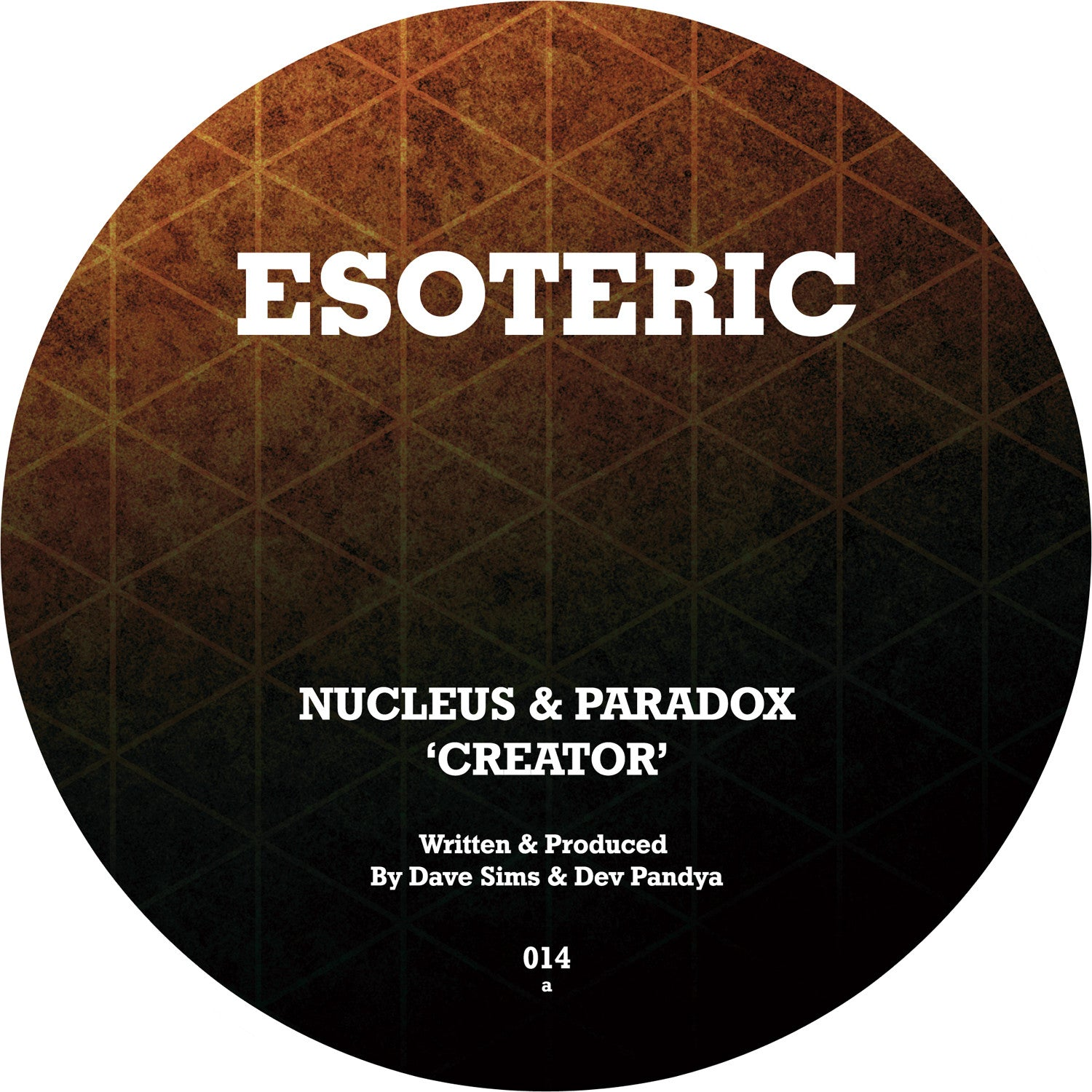 Nucleus & Paradox 'Creator' / 'Ease Back' (Downloads)