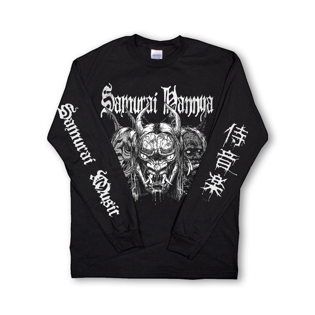Samurai Music - Samurai Hannya Long Sleeved Shirt [pre order]