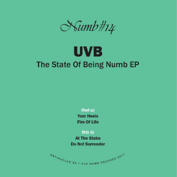UVB - The State Of Being Numb EP