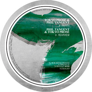 Tokyo Prose and Phil Tangent 'Parity' / 'Rearview' (Downloads)