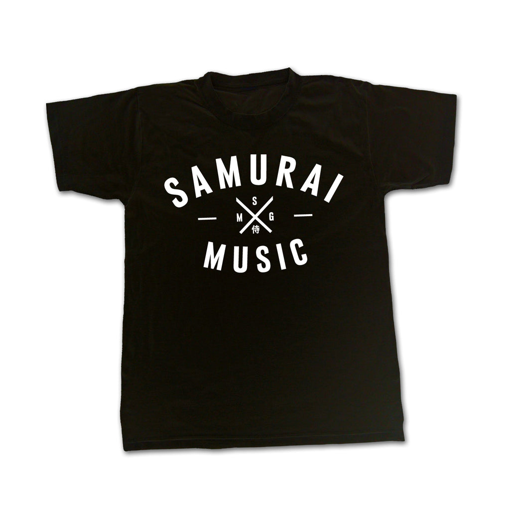 Samurai Music - SMG Logo T Shirt - 2019 Limited Reprint