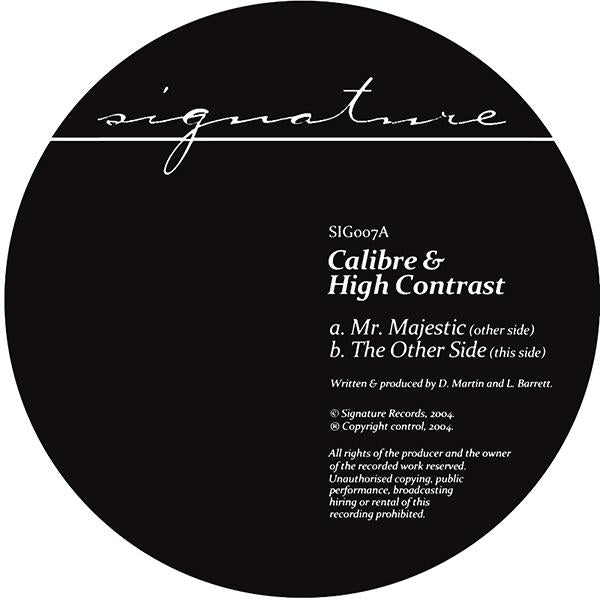 Calibre & High Contrast - Mr Majestic / The Other Side