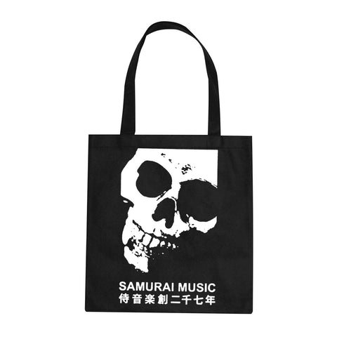 Samurai Music 'Skull' Tote Bag