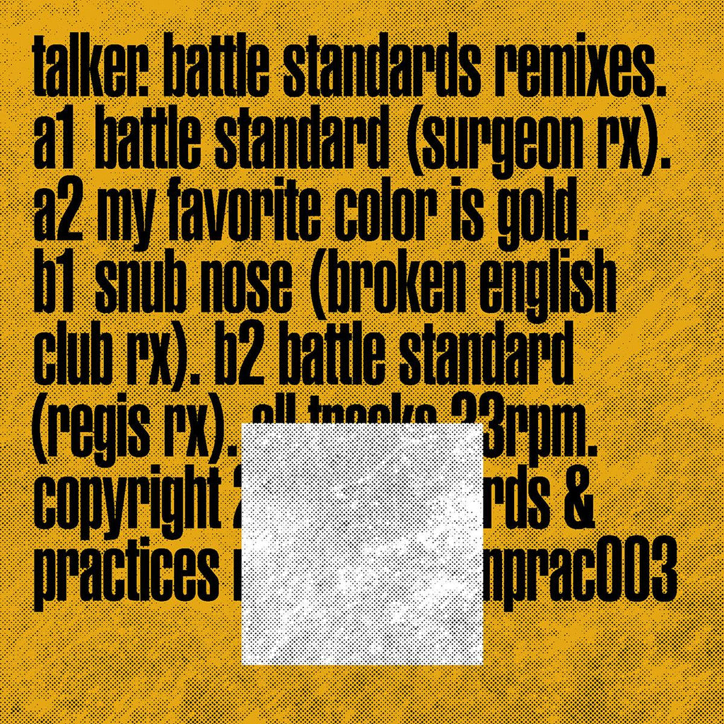 Talker - Battle Standards Remixes