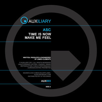 ASC 'Time Is Now' (Vinyl)